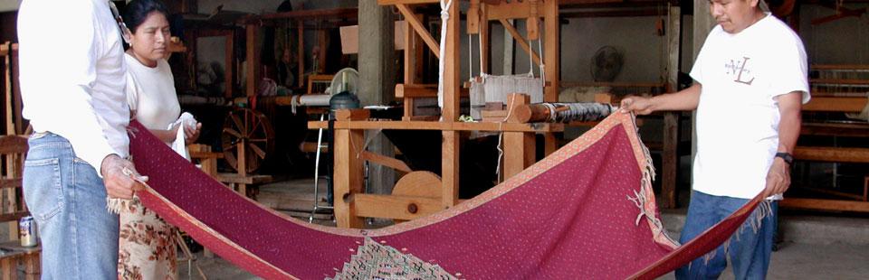 Proceso de rescate del Sarape de Saltillo - Sarape de Saltillo Antiguo