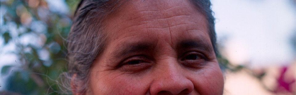 Manuela Cecilia Lino. Tejidos en lana.  Hueyapan, Puebla.