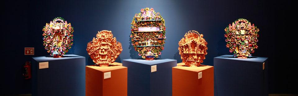 Exposición: Grandes Maestros del Arte Popular Mexicano.