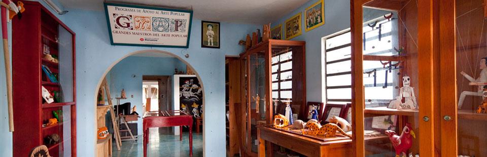 Tienda de Arte Popular en Yucatán.