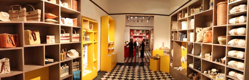 Tienda - librería en el Museo Casa Montejo. Mérida, Yucatán.