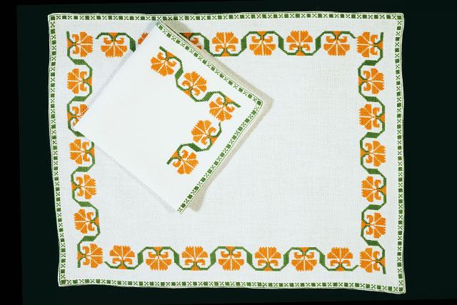 Bagelia Bautista Martínez | Carpetas bordadas | Chicontepec, Veracruz.